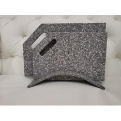 Набор досок на подставке  из камня Pebble Grey