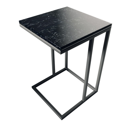 "Столик из камня "" кварц Black"""
