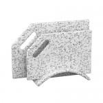 Разделочные доски из  камня на  подставке