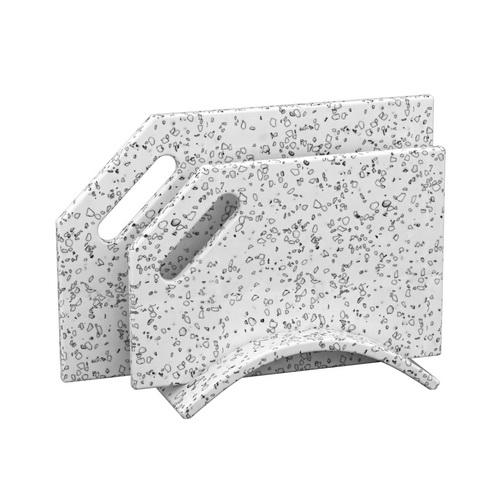 Набор досок на подставке  из камня Mosaic Dalmatian